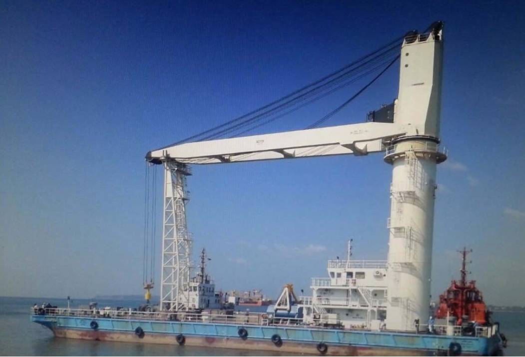 Floating discharge crane for sale